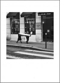 """#9. Париж, 2011, цикъл """"Деца"""" пигментен отпечатък, 70 x 50 см тираж 10+1, Продадена"""